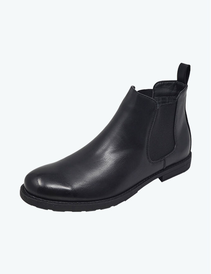 Inspirational Transitional Styles | Check Lined Chelsea Boots | By Cotton Traders
