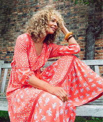 Inspire Me | The Folk Maxi Dress | By Cotton Traders