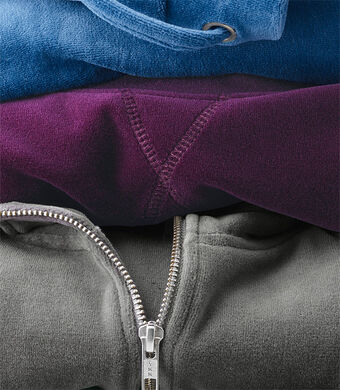 Lighter Jackets | Velour Jacket | By Cotton Traders