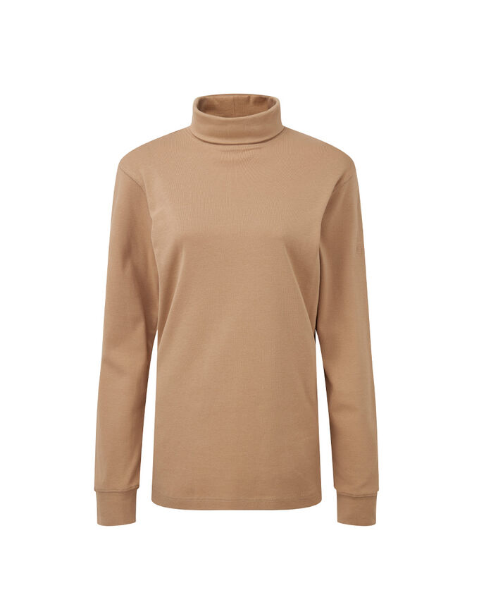 The Feelgood Coat   Roll Neck Top   By Cotton Traders