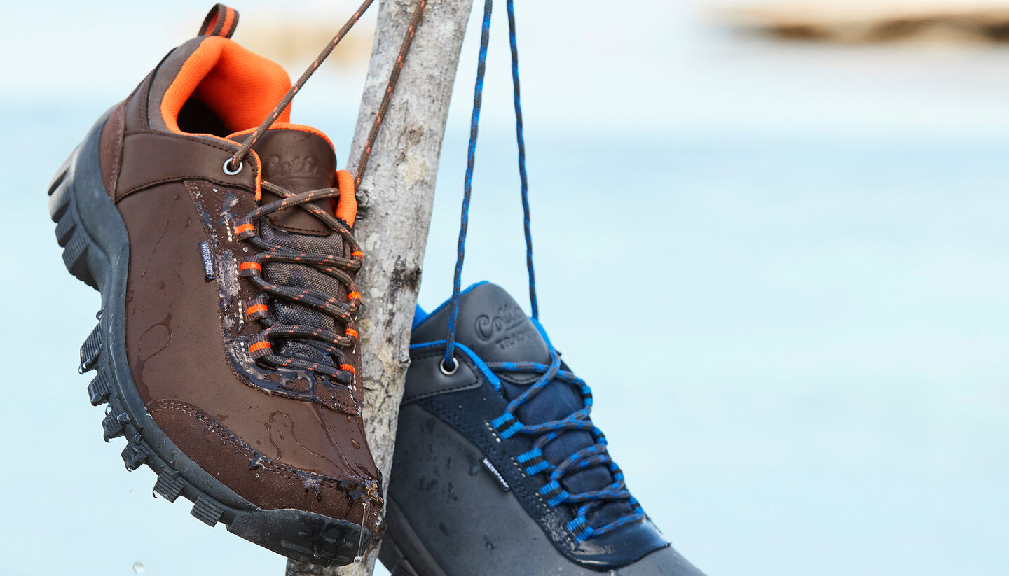 Great Outdoors | Waterproof Cushioned Walking Shoes | By Cotton Traders