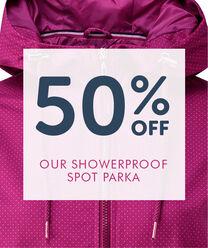 Showerproof Spot Parka
