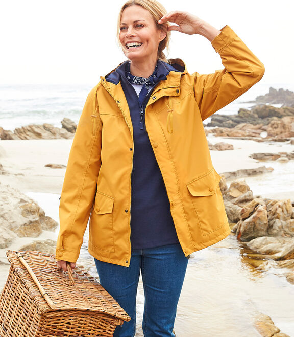 Waterproof Fleece Lined Jacket | By Cotton Traders