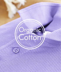 Inspire Me | Our Organic Collection | Organic Cotton Polo Shirt | By Cotton Traders