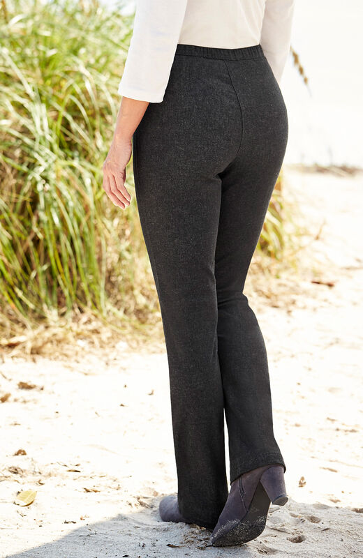 Our Top Trousers | Bootcut Jeggings | By Cotton Traders