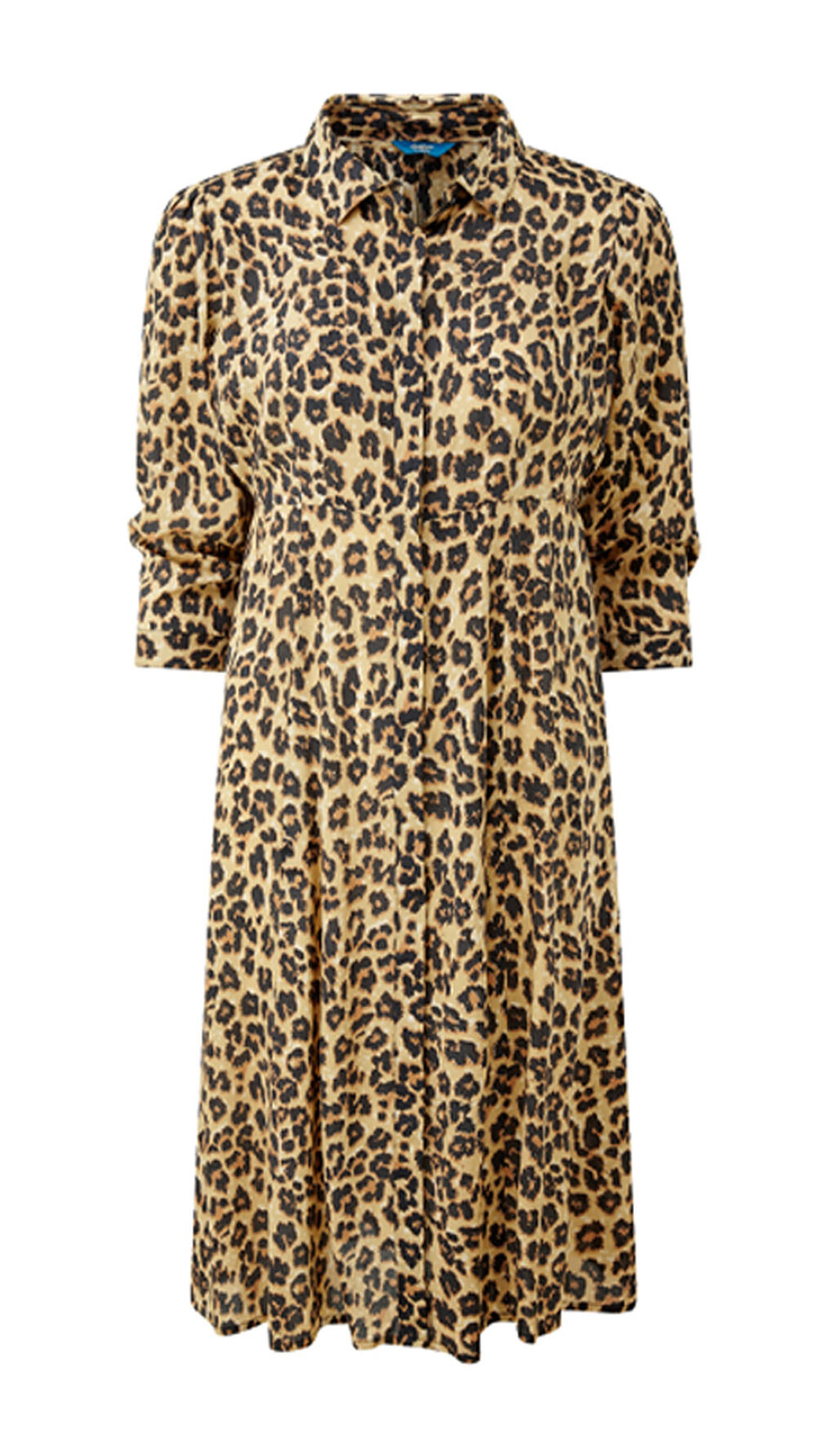 The Feelgood Coat   Frockstar Button-through Dress   By Cotton Traders