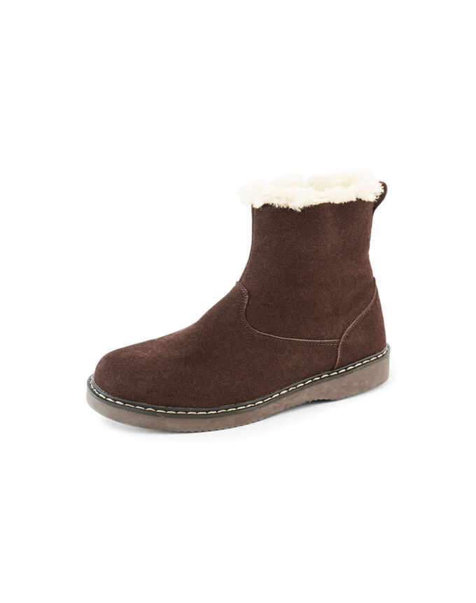 The Feelgood Coat   Sherpa Lined Boots   By Cotton Traders