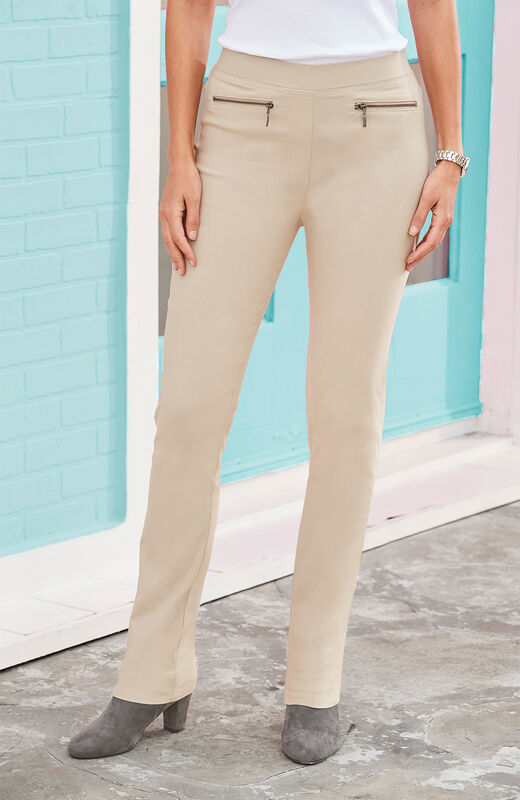 Our Top Trousers | Super Stretchy Pull-on Trousers | By Cotton Traders