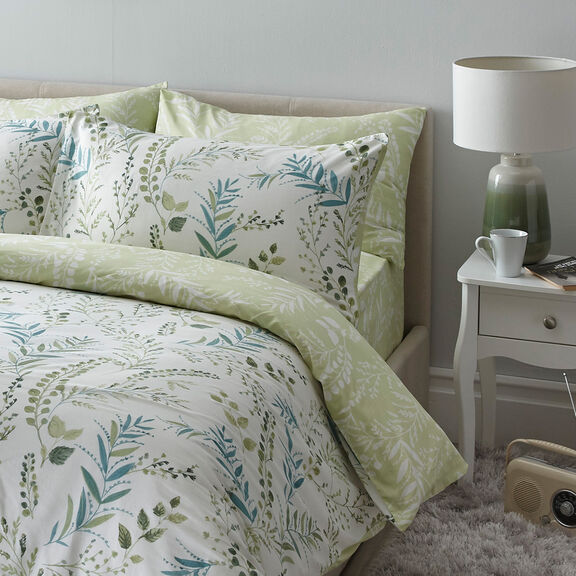 Fernworth Cotton Duvet Set | By Cotton Traders