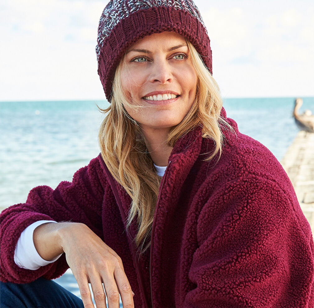 Fleece Collection | Sherpa Fleece Jacket | By Cotton Traders