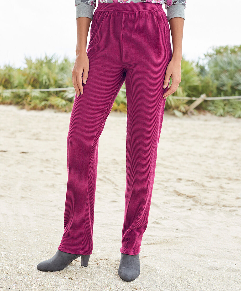 Our Top Trousers | Supersoft Pull-on Cord Trousers | By Cotton Traders