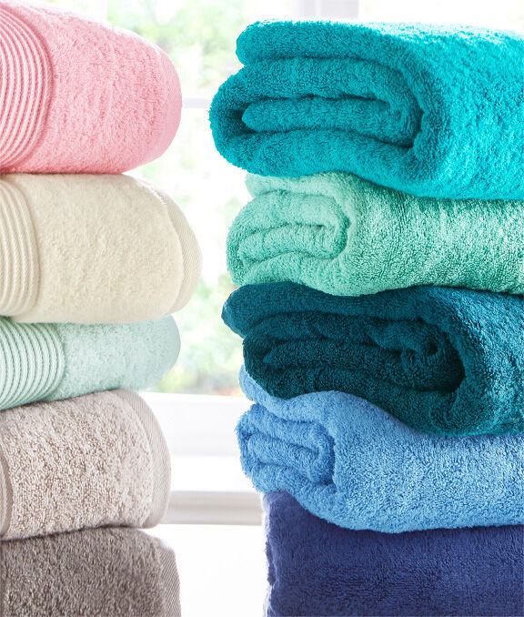 New In Home | Pima Bath Towel | By Cotton Traders