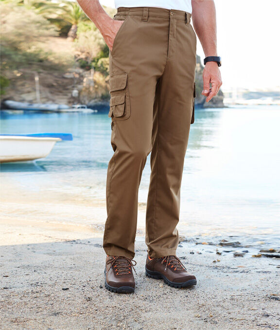 Great Outdoors | 14 Pocket Trousers | By Cotton Traders
