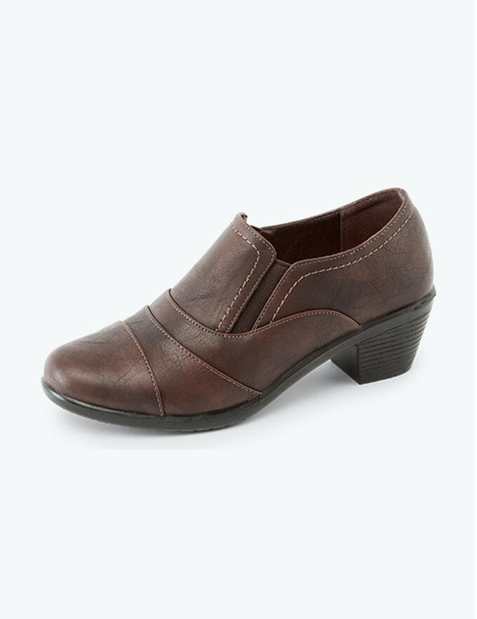 Inspirational Transitional Styles | Pleat Detail Trouser Shoes | By Cotton Traders