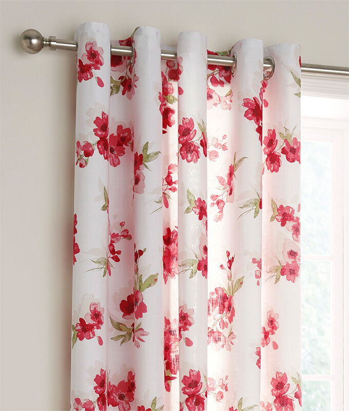 Homewear Inspirations | Blossom Eyelet Curtains | By Cotton Traders