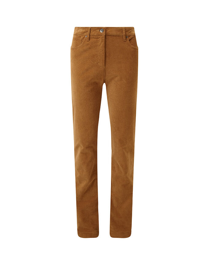 The Feelgood Coat   Stretch Cord Jeans   By Cotton Traders