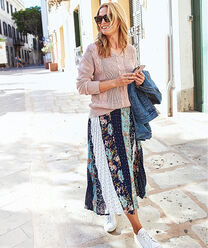 Inspire Me | The Swishy Skirt | By Cotton Traders