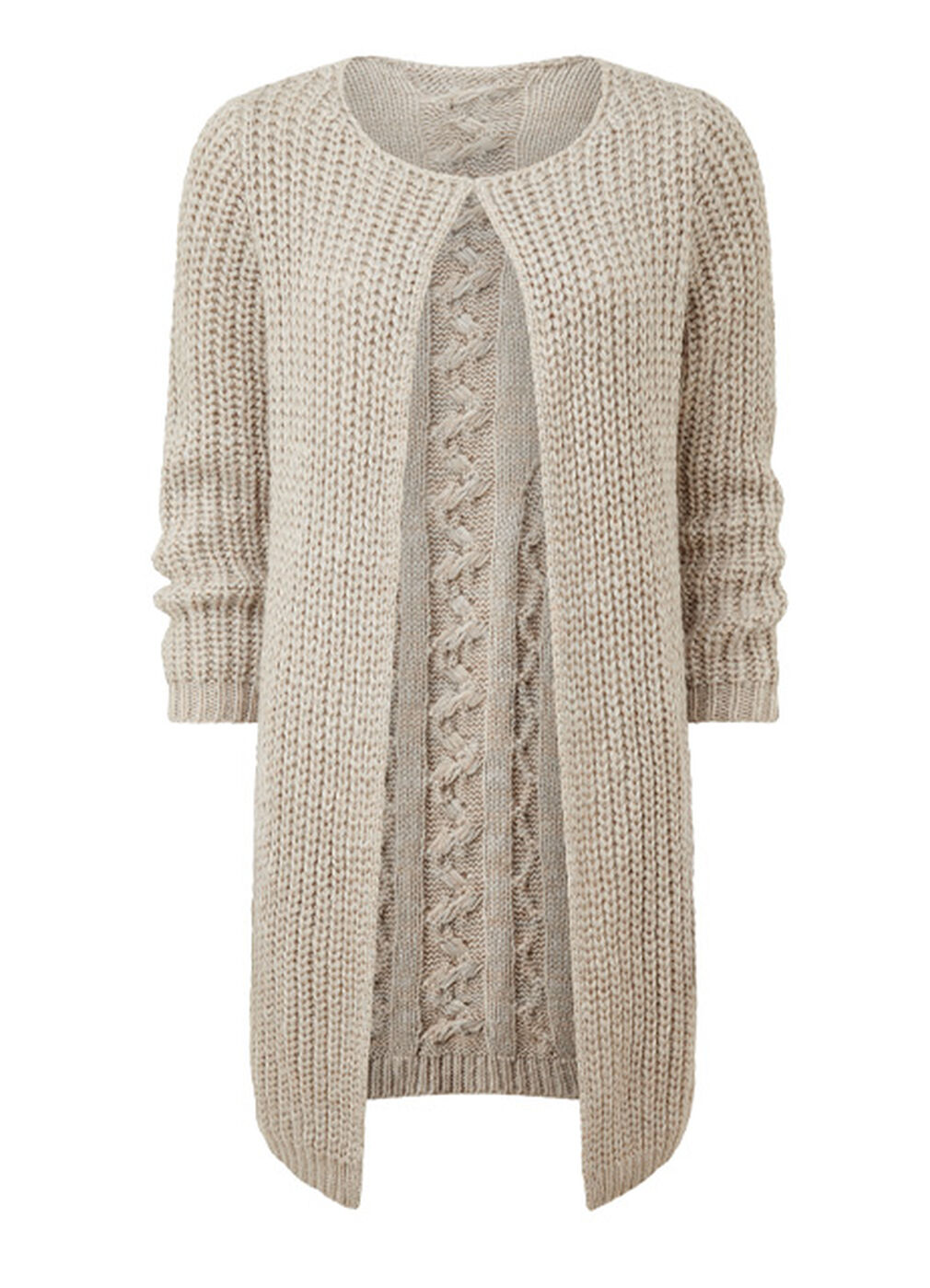 The Frockstar Dress | Cable Cardigan | By Cotton Traders