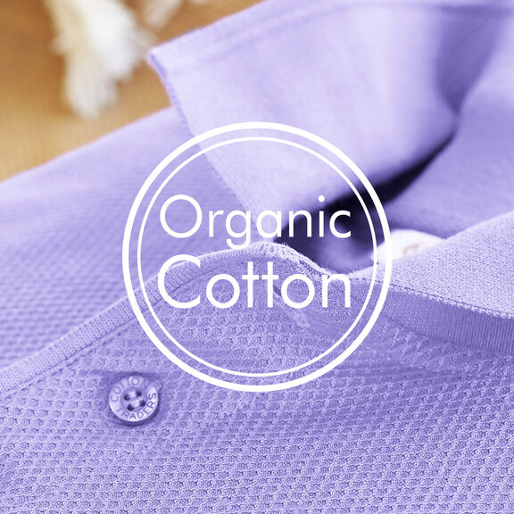 Organic Cotton Polo Shirt | By Cotton Traders