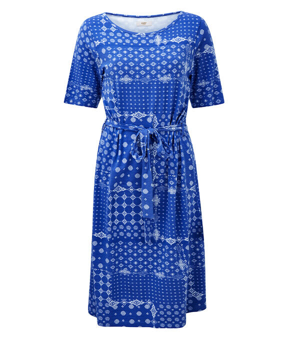 Spring Dresses | Printed Jersey Dress | By Cotton Traders