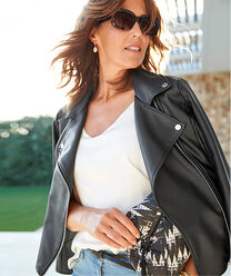 Inspire Me | The Biker Jacket | By Cotton Traders