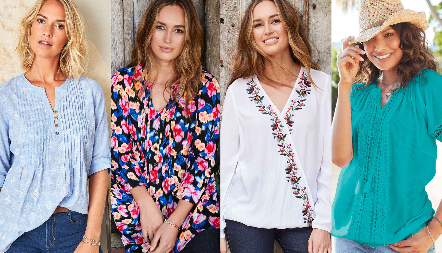 Colourful Spring Tops