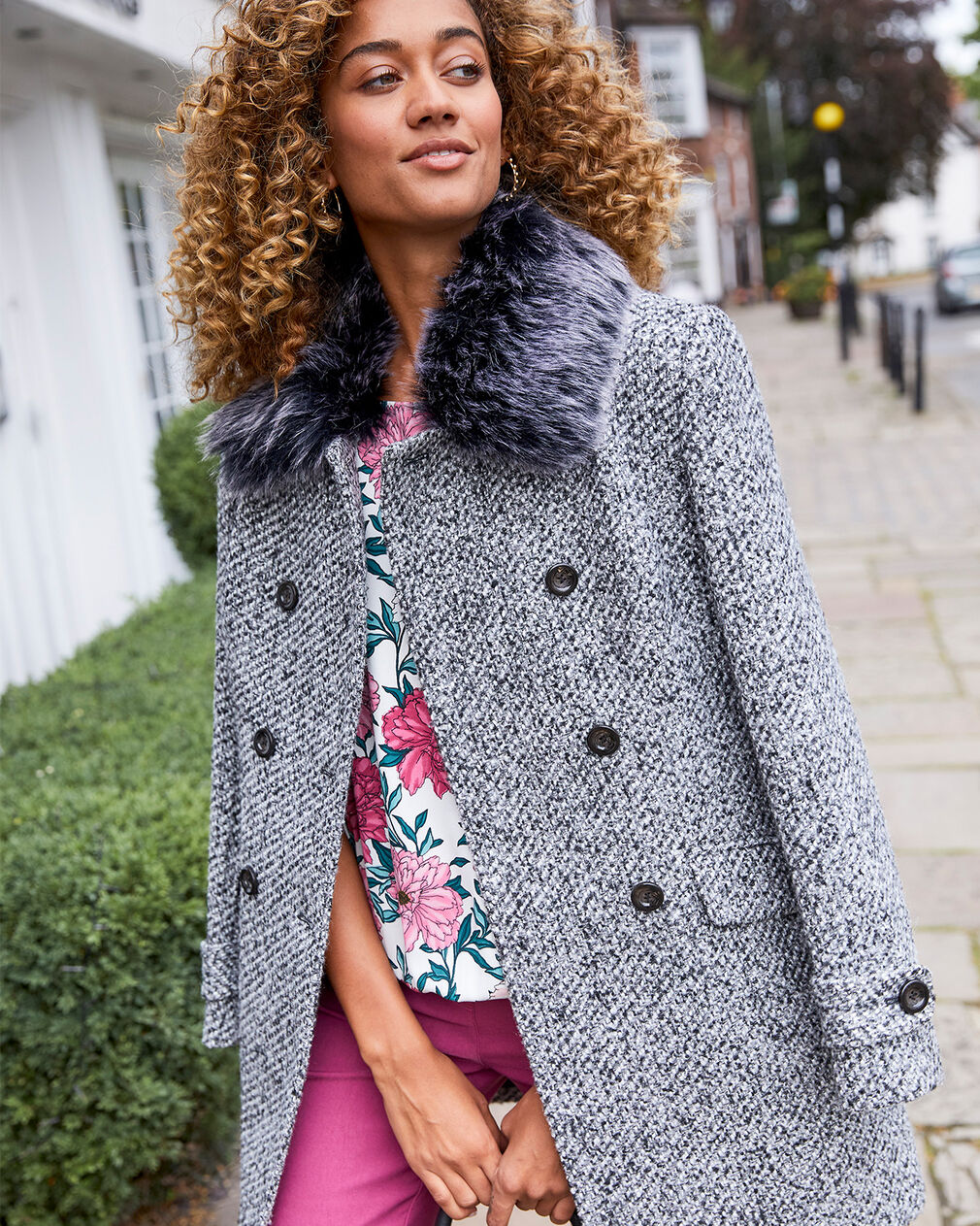 The Feel Good Coat | By Cotton Traders