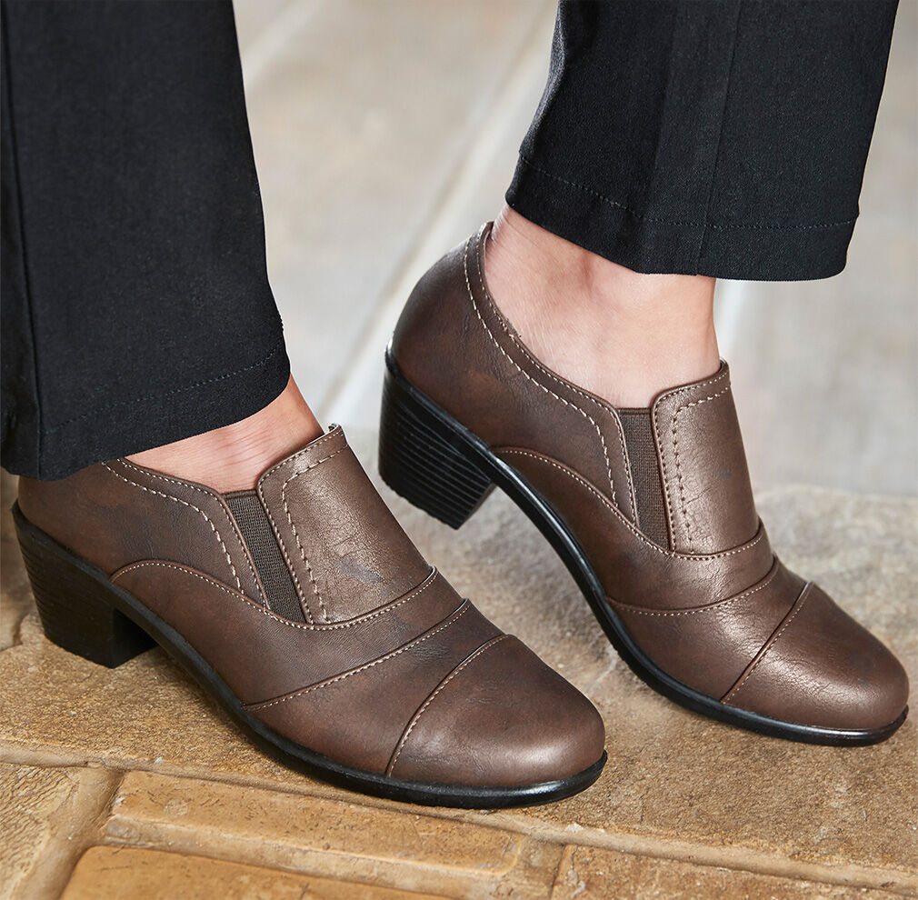 Autumn Footwear | Pleat Detail Trouser Shoes | By Cotton Traders