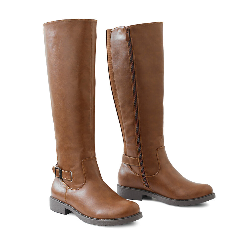 Ready For The Season | Knee High Stretch Boots | By Cotton Traders