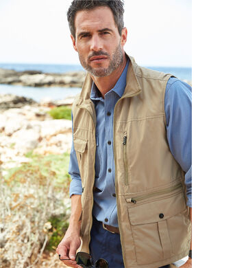 Great Outdoors | Multi Pocket Gilet | By Cotton Traders