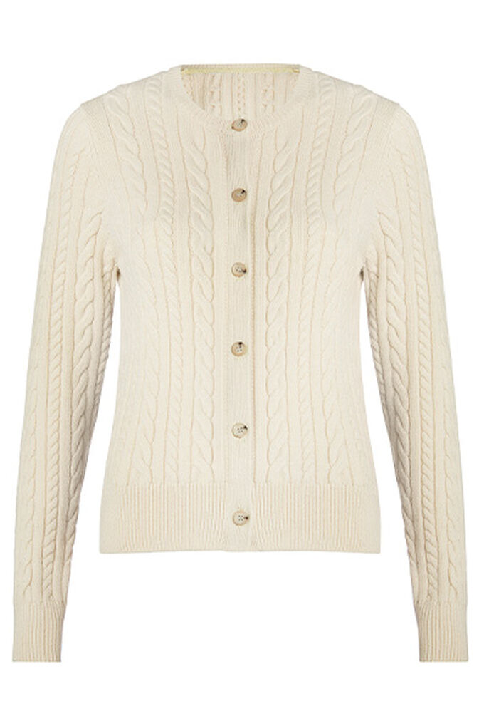 Cutest Cable Cardigan