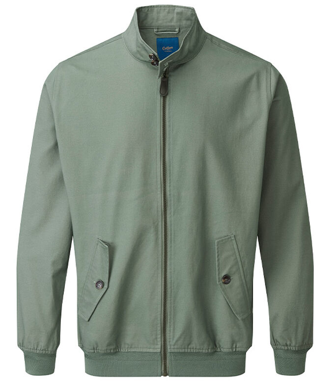 The Charismatic Goose | Harrington Jacket | By Cotton Traders