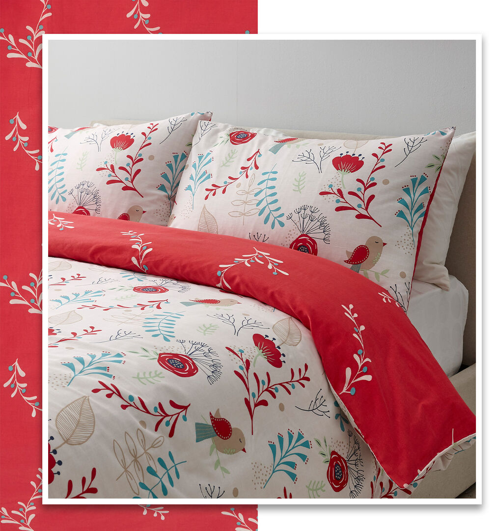 Scandi Bird Duvet Set