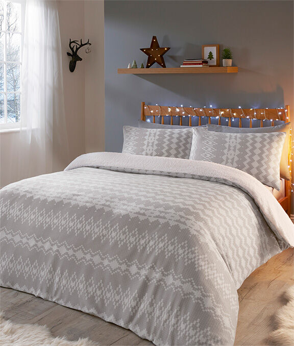 Christmas Homeware | Alpine Duvet Set | By Cotton Traders