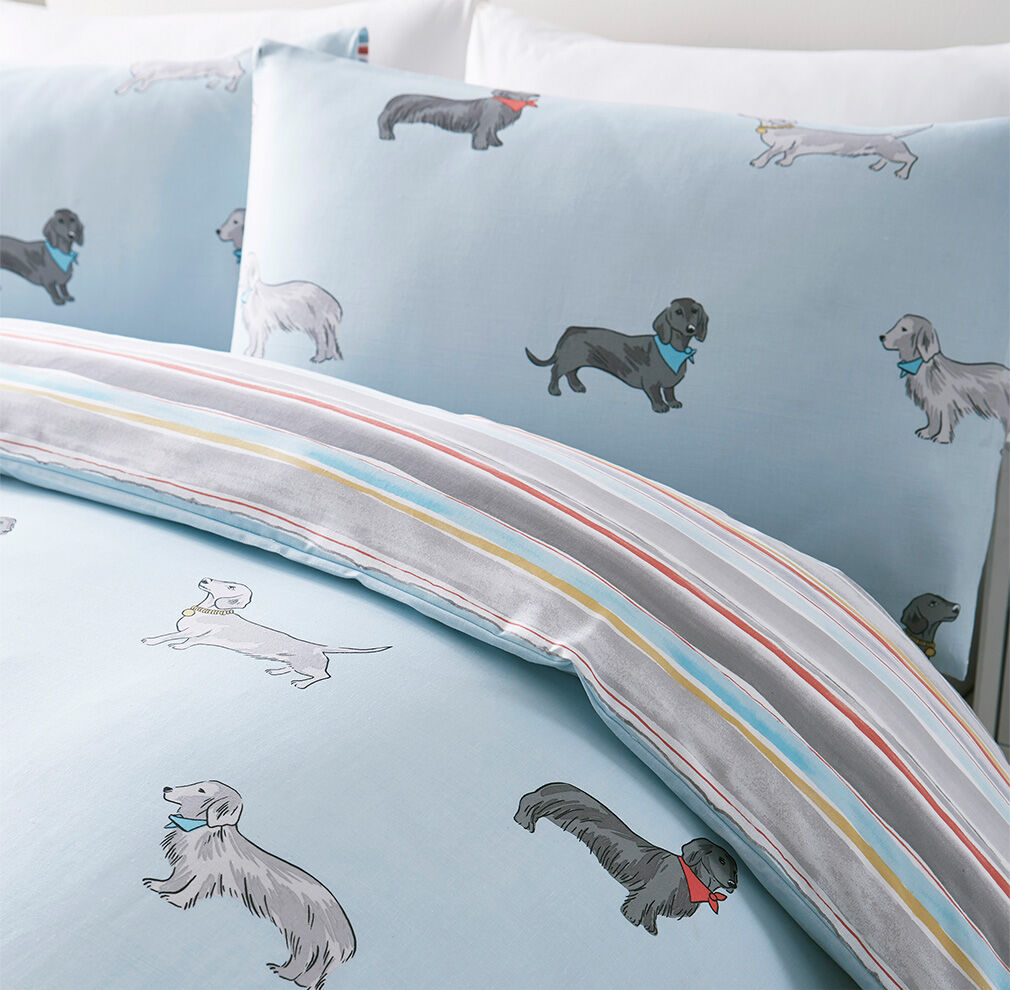 Homewear Inspirations | Dogs Duvet Set | By Cotton Traders