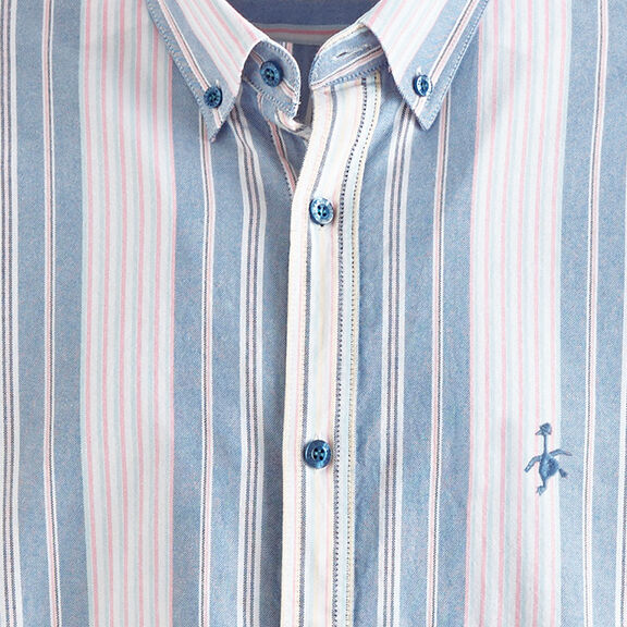 Organic Striped T-shirt | By Cotton Traders