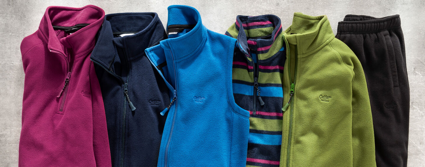 Inspirational Micro Fleeces   By Cotton Traders