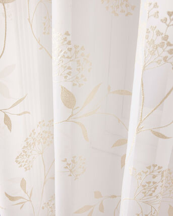Meadow Flowers Printed Voile (Pair) 55X48""
