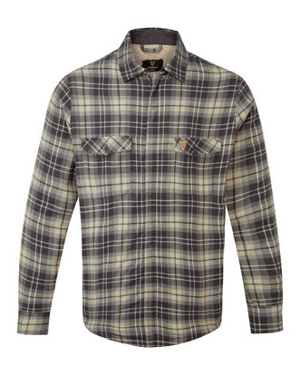 Guinness Teddy Lined Check Shacket