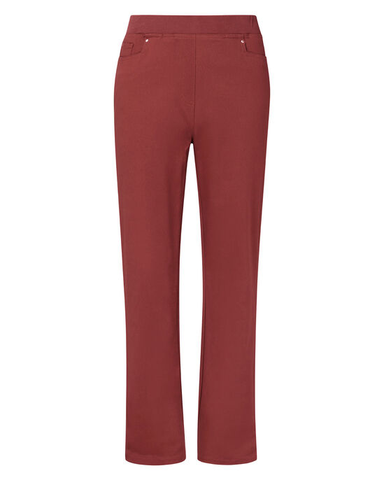 Premium Pull-On Rib Waist Twill Jeans