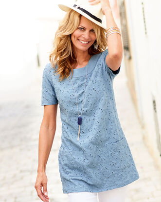 Jersey Embroidered Tunic