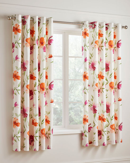 """Pippa Eyelet Curtains 66x72"""""""