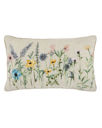 Meadow Embroidered Cushion