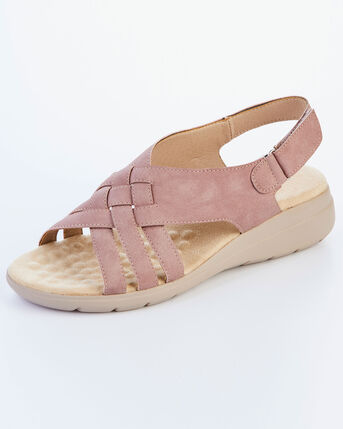 Comfort Cross Over Adjustable Sandals