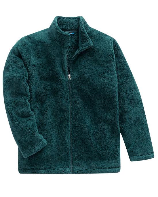 Soft Fleece Zip Through Jacket