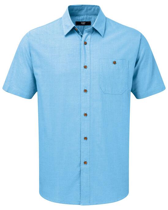 Bright Short Sleeve Oxford Shirt