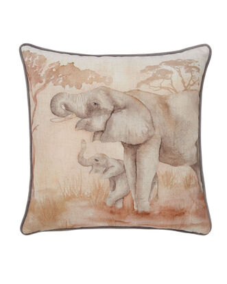 Elephant Family Cushion