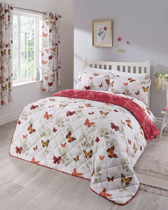 Butterfly Script Bedspread