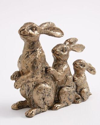 Hare Family Ornament