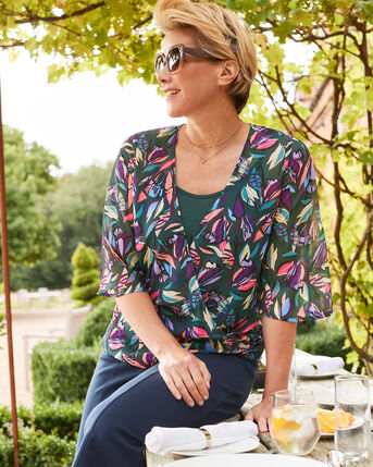 Occasion Wrap Top